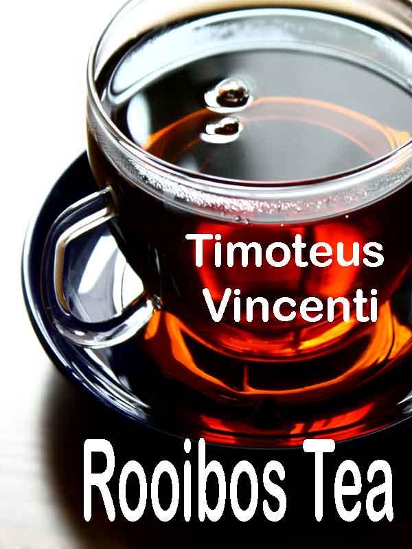 Rooibos tea book cover