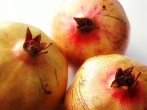 pomegranates whole